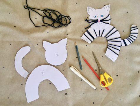 Výrobek - Kočka z vlny