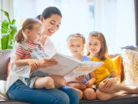 obrázkové čtení dětem